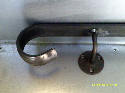 Wrought Iron Handrail Metal Wall Mounted Rail Railing Steps Stairs