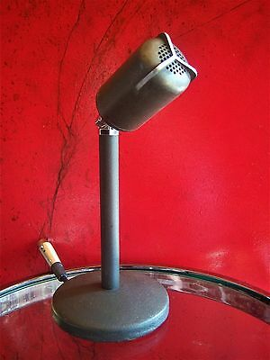 Vintage RARE 1950's Altec 633A dynamic microphone old w Altec 23A desk stand