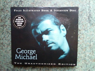 Rare  Interview Cd And Book -George Michael - The Unauthorised Edition