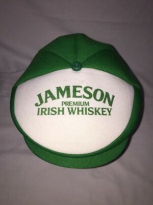 Vintage Jameson Irish Whiskey Snap Cap Golf Hat USA Made