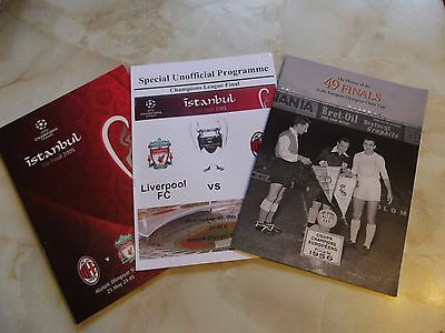 LIVERPOOL v AC MILAN CHAMPIONS LEAGUE FINAL 2005 + EXTRAS
