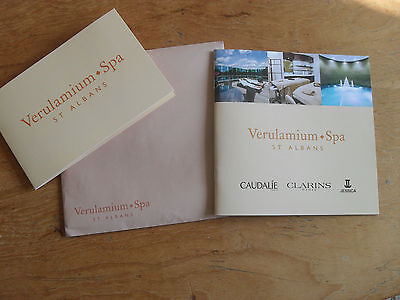 £50 Gift Voucher For Verulamium Spa St. Albans - Great Present
