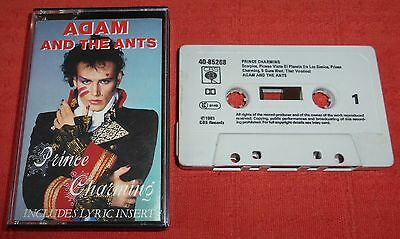 Adam And The Ants - Uk Cassette Tape - Prince Charming