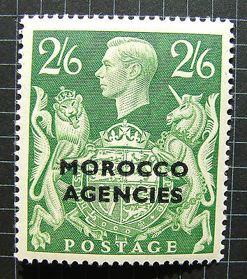 Morocco Agencies KGVI 1949 2/6  HALFCROWN   SG92 M