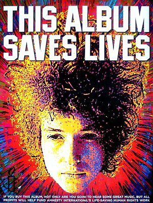 Chimes of Freedom SONGS of BOB DYLAN Orig Music Poster 2x3' Rare 2012 Mint