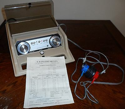 Nice Maico Ma27 Ma-27 Portable Audiometer Hearing Test *recent Cal*- *free Ship*