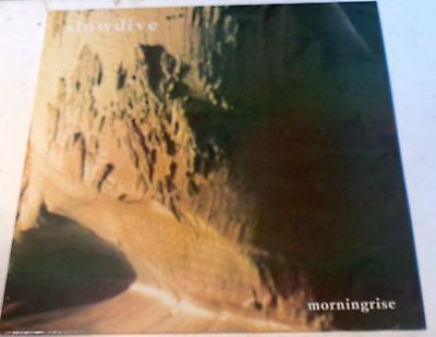 "SLOWDIVE  Morningrise 3 Track 12"" EP 1991 Creation Records cre 098 t EX+ / EX+"