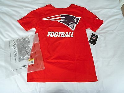 New England Patriots Logo NFL Nike T-Shirt (Small)
