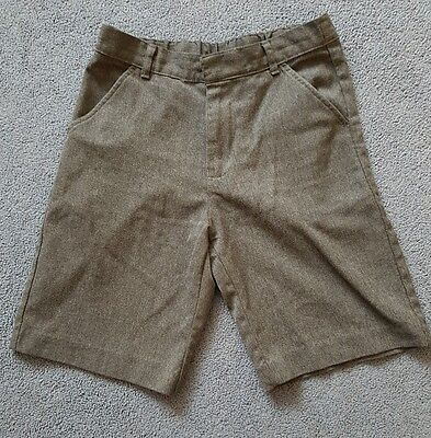 Boys grey school shorts age 7-8 years with adjustable waist