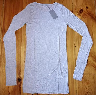 Cos - Collection Of Style - Lovely Long Sleeve T-Shirt Top - Small S - Grey