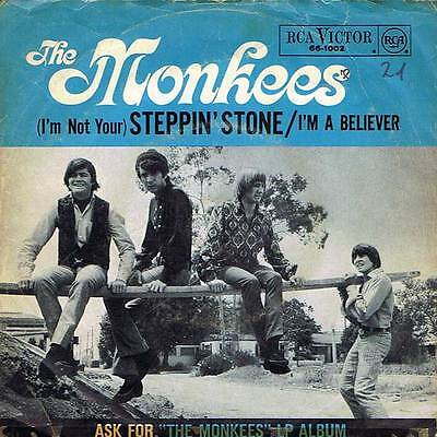 "60s 7"" 68 - THE MONKEES - I'M A BELIEVER - RCA Victor D 1966 - EX-"