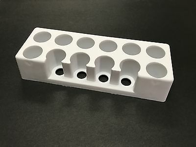 Endicott-Seymour Test Tube Support Rack Holder 28mm - 32mm Tubes Item# 205
