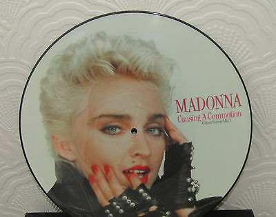 Madonna Causing A Commotion 12Inch Picture Disc 1986