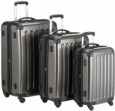 HAUPTSTADTKOFFER - Alex - Set Of 3 Hard-side Luggages Glossy Suitcase Hardside