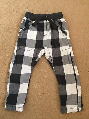 Next Boys Trousers Age 12-18 Months