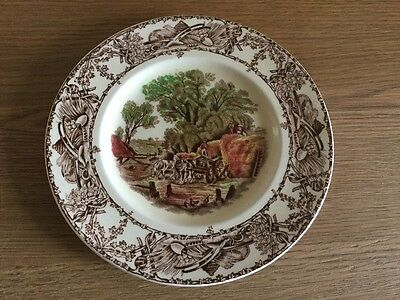 Vintage Clarice Cliff Rural Scenes Royal Staffordshire Tea Plate