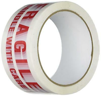 Fragile Printed Handle With Care 50Mm X 66M Box Sealing Parcel Packaging Tape