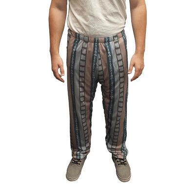 The Dude Pajama Pants Big Lebowski Jeffrey Costume Bottoms Movie Bowling Jeff  sc 1 st  PicClick & THE BIG LEBOWSKI The Dude Menu0027s Sweater Costume - $63.98 | PicClick