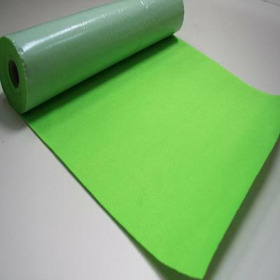 BS EN 71 ZEST GREEN Sticky Self Adhesive Felt Baize Fabric Mini 5m Rolls UK MADE