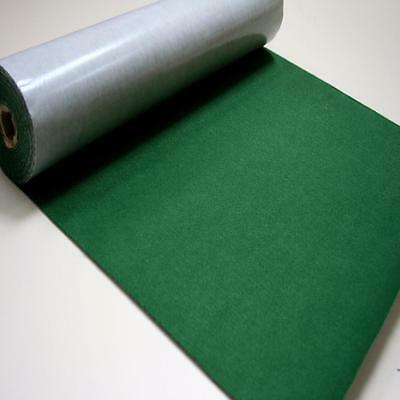 BS EN 71 OLIVE GREEN Sticky Self Adhesive Felt Baize Fabric Mini 5m Rolls UK MAD