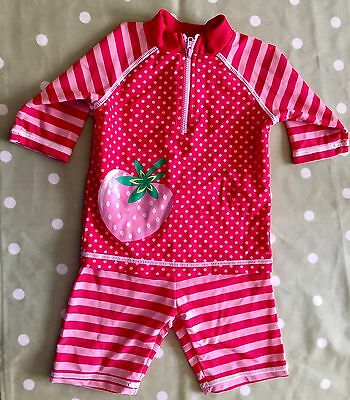 Mini Club Baby Girl Sunsafe Suit 9-12 Months