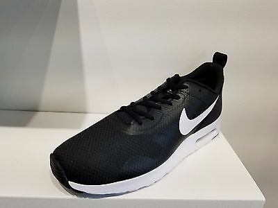 5dbf10837b80 Nike Men s Air Max Tavas Running Shoes Black  White  Black (705149 ...