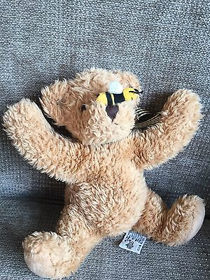 Russ Berrie Buzz Bear Bee Soft Toy