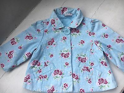 Stunning Girls Shabby Chic Jacket From Next 6-9 Months
