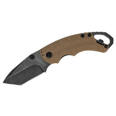 Kershaw 8750TTANBW Shuffle II Tan GFN Tactical Survival Folding Pocket Knife
