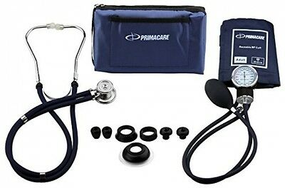 Primacare Medical Supplies DS-9181 Blue Professional Blood Pressure Kit With