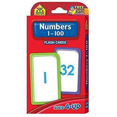 Flash Cards - Numbers 1 - 100 Cards