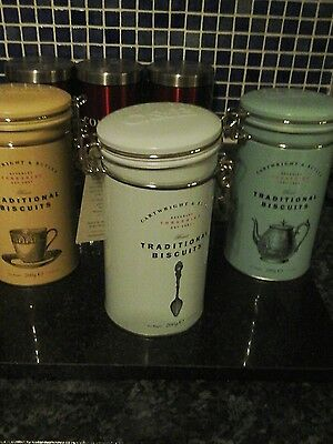 3 cartwright & Butler canisters