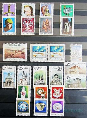 Poland Lovely Mnh Selection Of Sets ***see Scans***