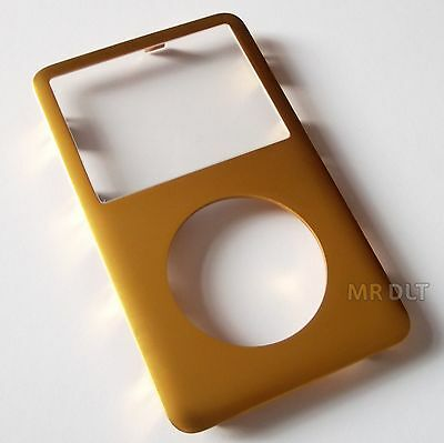 Gold Plated Metal Front Housing For 6th 7th Generation iPod Classic UK Seller