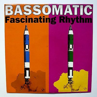 "Bassomatic - Fascinating Rhythm - Vinyl 12"" Single Record 1990 Vst1274 Ex/ex"