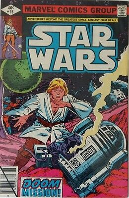 MARVEL COMICS STAR WARS #26 1980's FREE P&P RARE BARGAIN WHEN ITS GONE ITS GONE
