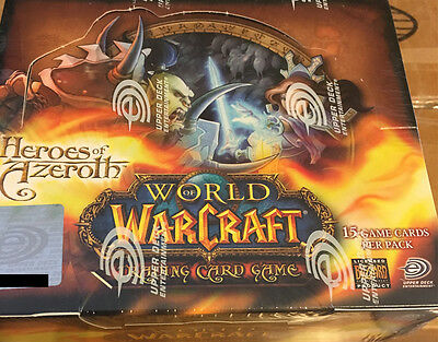 World of Warcraft TCG - Heroes of Azeroth - WoW Booster Box New Sealed