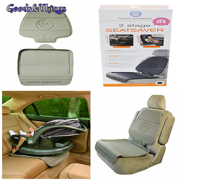 NEW Car Seat Back Protector Cover For Baby Kids Children Safety Rear Keeps Beige