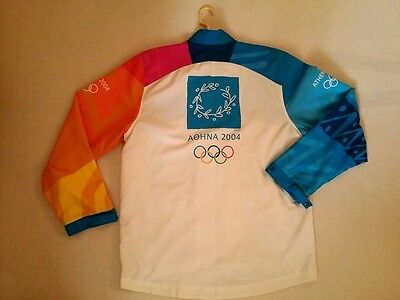 Original Adidas Volunteers thin Windbreaker Athens 2004 Olympics