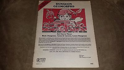 Dungeons & Dragons - Dungeon Geomorphs - 1981 - TSR 9048