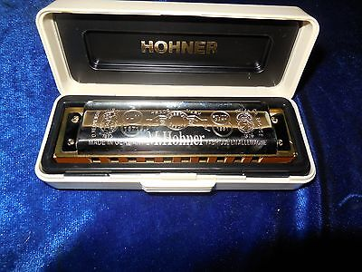 Vintage M. Hohner Harmonica Hand Made in Germany Key of A