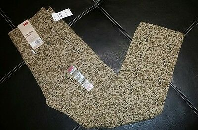 Levis 33x30 slim straight camo cargo pants new w tags msrp $68