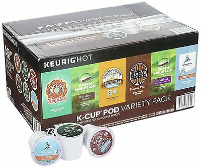 Green Mountain Coffee Variety Pack 72 K-Cup Pods