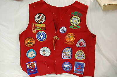 VINTAGE BOY SCOUTS BSA PATCHES VESTS BADGES Baltimore 75 anniversary