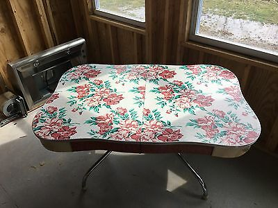 vintage laminate top kitchen table with chrome legs