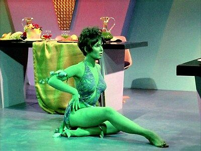 Yvonne Craig as the Orion slave girl Marta in Star Trek