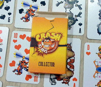 Crash Bandicoot - Promotional Card Game 10th Anniversary French Exclusive Rare