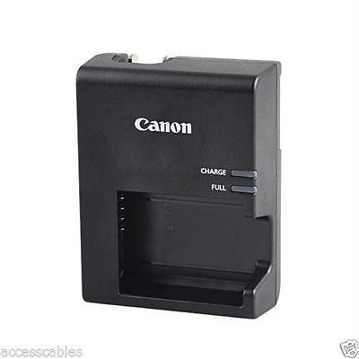 Genuine Canon Rebel T3/T5/T6 Camera Charger W/USB Combo LP-E10, LC-E10