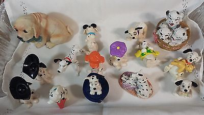 15 Dogs - Figurines Mixed Lot - Mostly Dashounds Collectibles