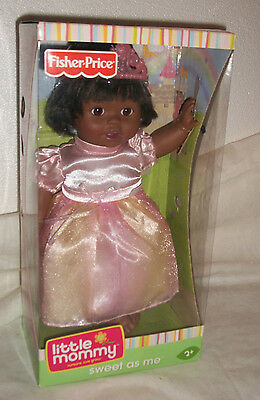 New Fisher Price Little Mommy Sweet as Me African American Black Baby Doll NIB